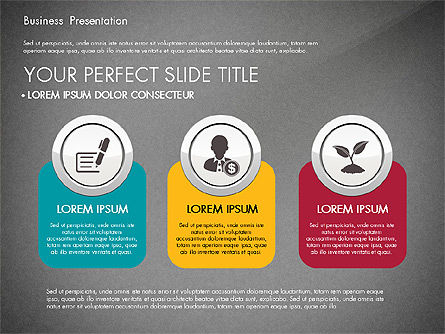 Pitch Deck Modern Presentation Template, Slide 16, 03057, Presentation Templates — PoweredTemplate.com