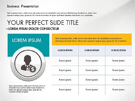Pitch Deck Modern Presentation Template, Slide 4, 03057, Presentation Templates — PoweredTemplate.com