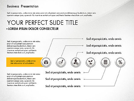 Pitch Deck Modern Presentation Template, Slide 6, 03057, Presentation Templates — PoweredTemplate.com