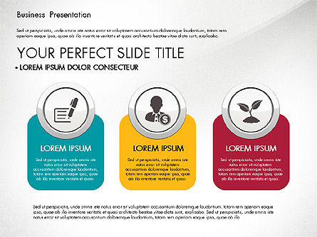 Pitch Deck Modern Presentation Template, Slide 8, 03057, Presentation Templates — PoweredTemplate.com