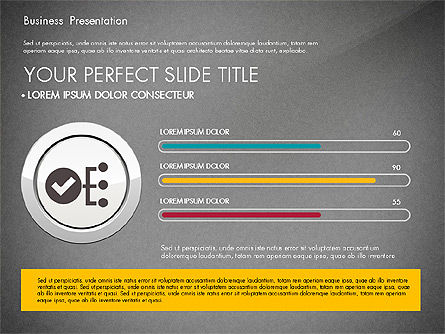 Pitch Deck Modern Presentation Template, Slide 9, 03057, Presentation Templates — PoweredTemplate.com