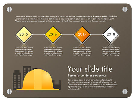 Presentation Templates: Construction Infographics Presentation Template #03059