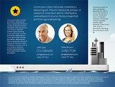 Presentation Templates: Shipping Ingfographics with Data Driven Charts #03061
