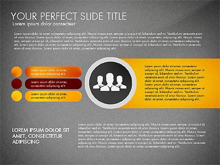Social Spaghetti Chart, Slide 10, 03063, Presentation Templates — PoweredTemplate.com