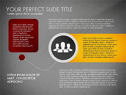 Social Spaghetti Chart, Slide 12, 03063, Presentation Templates — PoweredTemplate.com