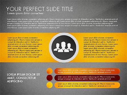 Social Spaghetti Chart, Slide 16, 03063, Presentation Templates — PoweredTemplate.com