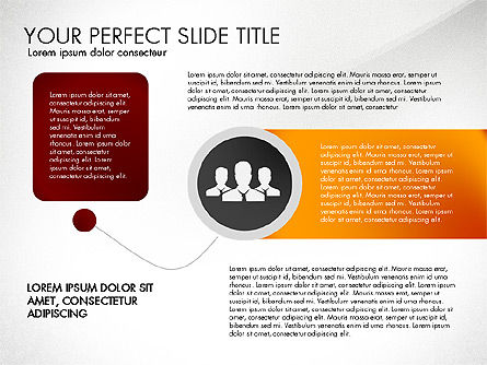 Social Spaghetti Chart, Slide 4, 03063, Presentation Templates — PoweredTemplate.com