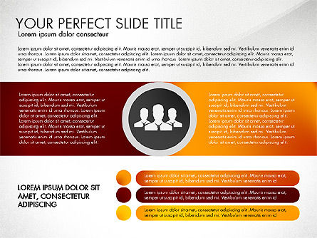 Social Spaghetti Chart, Slide 8, 03063, Presentation Templates — PoweredTemplate.com