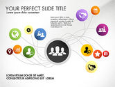 Presentation Templates: Social Spaghetti Chart #03063