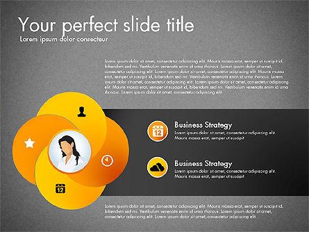 Process Presentation Template with Flat Shapes, Slide 11, 03065, Process Diagrams — PoweredTemplate.com