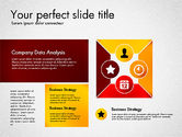 Process Diagrams: Process Presentation Template with Flat Shapes #03065