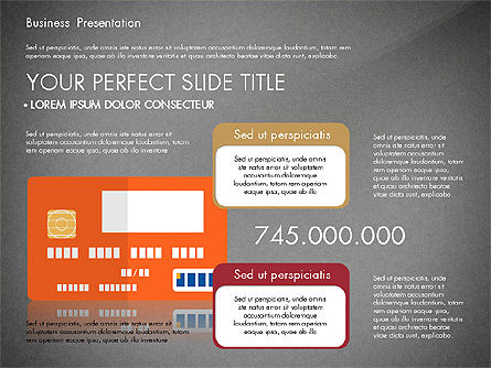 Presentation with Flat Design Shapes and Diagrams, Slide 15, 03066, Presentation Templates — PoweredTemplate.com