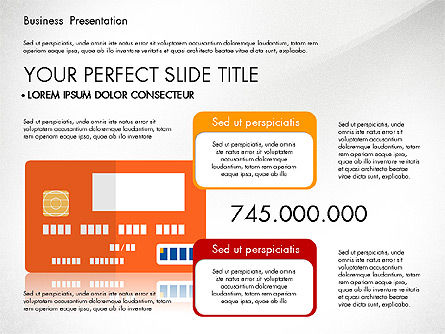 Presentation with Flat Design Shapes and Diagrams, Slide 7, 03066, Presentation Templates — PoweredTemplate.com