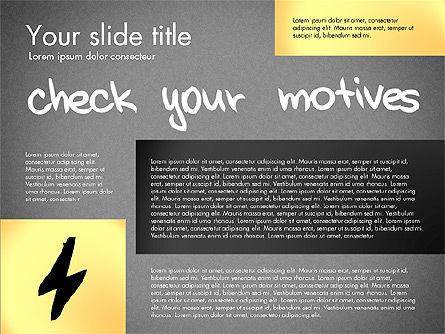 Motivation Presentation Concept, Slide 12, 03067, Presentation Templates — PoweredTemplate.com
