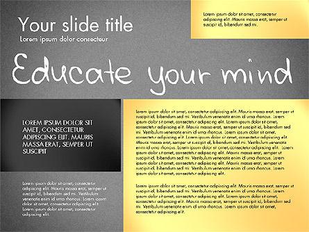 Motivation Presentation Concept, Slide 13, 03067, Presentation Templates — PoweredTemplate.com