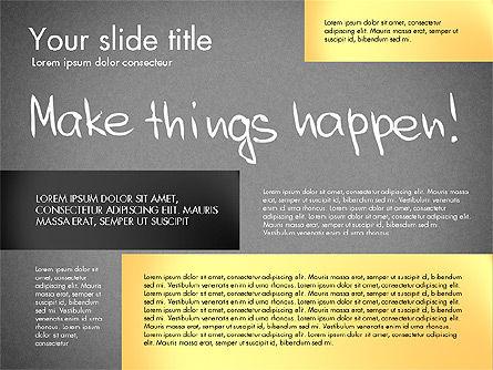 Motivation Presentation Concept, Slide 16, 03067, Presentation Templates — PoweredTemplate.com