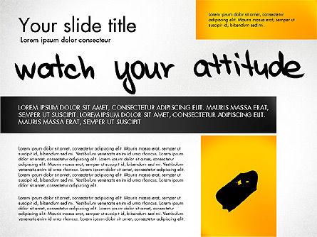 Motivation Presentation Concept, Slide 3, 03067, Presentation Templates — PoweredTemplate.com