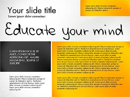 Motivation Presentation Concept, Slide 5, 03067, Presentation Templates — PoweredTemplate.com