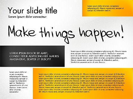 Motivation Presentation Concept, Slide 8, 03067, Presentation Templates — PoweredTemplate.com