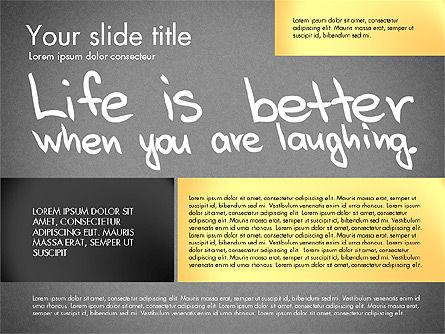 Motivation Presentation Concept, Slide 9, 03067, Presentation Templates — PoweredTemplate.com