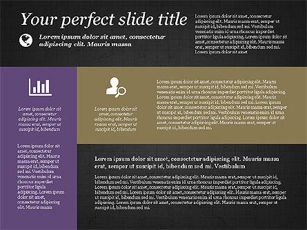Checkpoints and Results Presentation Template, Slide 14, 03068, Timelines & Calendars — PoweredTemplate.com
