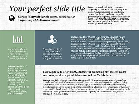 Checkpoints and Results Presentation Template, Slide 6, 03068, Timelines & Calendars — PoweredTemplate.com