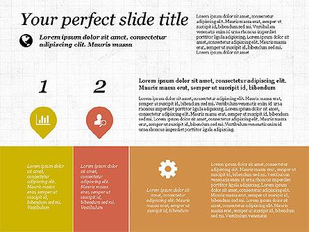 Checkpoints and Results Presentation Template, Slide 8, 03068, Timelines & Calendars — PoweredTemplate.com