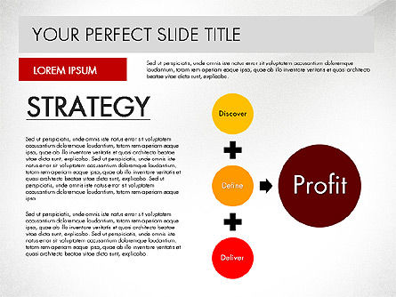 SWOT Strategy Marketing Presentation Concept, 03069, Business Models — PoweredTemplate.com