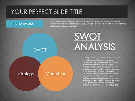 SWOT Strategy Marketing Presentation Concept, Slide 12, 03069, Business Models — PoweredTemplate.com