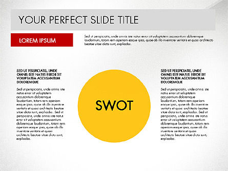 SWOT Strategy Marketing Presentation Concept, Slide 2, 03069, Business Models — PoweredTemplate.com