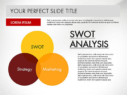 SWOT Strategy Marketing Presentation Concept, Slide 4, 03069, Business Models — PoweredTemplate.com