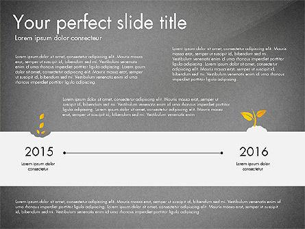 Business Growth Concept Diagram, Slide 10, 03072, Stage Diagrams — PoweredTemplate.com