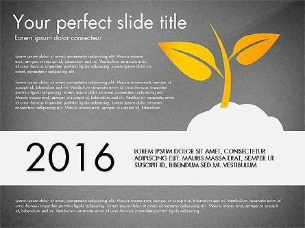 Business Growth Concept Diagram, Slide 11, 03072, Stage Diagrams — PoweredTemplate.com