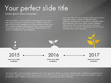 Business Growth Concept Diagram, Slide 12, 03072, Stage Diagrams — PoweredTemplate.com