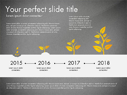 Business Growth Concept Diagram, Slide 14, 03072, Stage Diagrams — PoweredTemplate.com