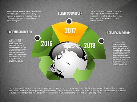 Environmental Sustainability Infographics Options, Slide 10, 03073, Infographics — PoweredTemplate.com