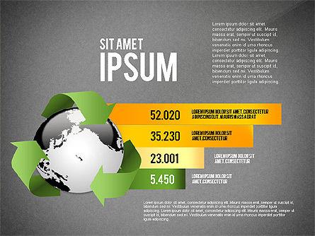 Environmental Sustainability Infographics Options, Slide 11, 03073, Infographics — PoweredTemplate.com