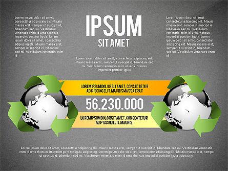 Environmental Sustainability Infographics Options, Slide 12, 03073, Infographics — PoweredTemplate.com