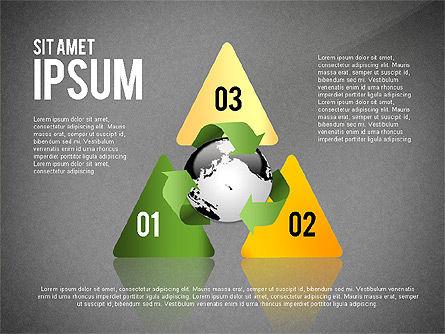 Environmental Sustainability Infographics Options, Slide 13, 03073, Infographics — PoweredTemplate.com