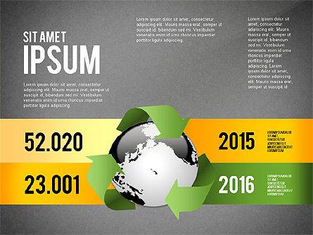 Environmental Sustainability Infographics Options, Slide 14, 03073, Infographics — PoweredTemplate.com
