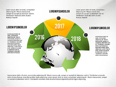 Environmental Sustainability Infographics Options, Slide 2, 03073, Infographics — PoweredTemplate.com