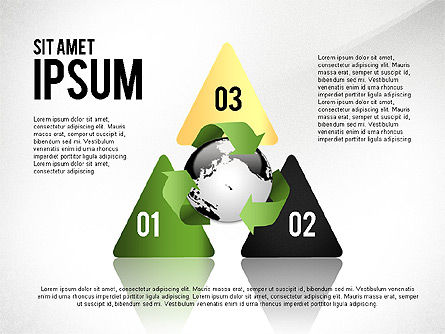 Environmental Sustainability Infographics Options, Slide 5, 03073, Infographics — PoweredTemplate.com