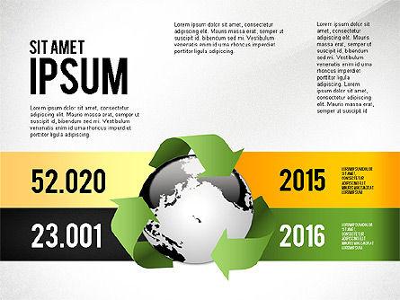 Environmental Sustainability Infographics Options, Slide 6, 03073, Infographics — PoweredTemplate.com