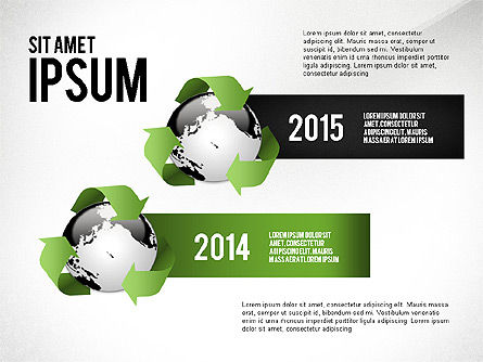 Environmental Sustainability Infographics Options, Slide 7, 03073, Infographics — PoweredTemplate.com