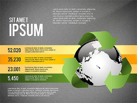 Environmental Sustainability Infographics Options, Slide 9, 03073, Infographics — PoweredTemplate.com