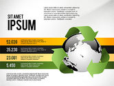 Infographics: Environmental Sustainability Infographics Options #03073