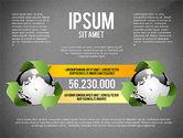 Environmental Sustainability Infographics Options#12