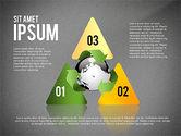 Environmental Sustainability Infographics Options#13