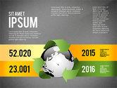 Environmental Sustainability Infographics Options#14