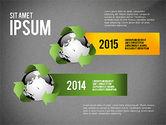 Environmental Sustainability Infographics Options#15